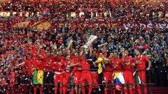 Севиля вдигна купата във втория по сила турнир на Европа за четвърти път.