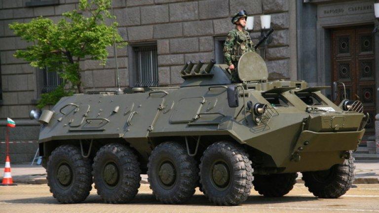 БТР-60ПД-МД1 Модернизиран в България вариант на руския бронетранспортьор БТР-60ПД. При българския вариант двата бензинови двигателя са заместени от един дизелов с нова автоматична скоростна кутия. Машината превозва осем човека десант и е въоръжена с 14,5-mm картечница и още една с калибър 7,62-mm.