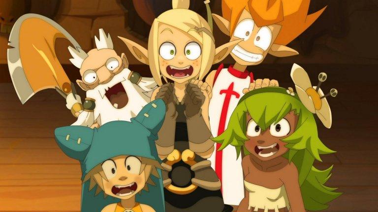 Wakfu  Само един поглед към приказния фантастичен свят на Wakfu може да ви накара да се влюбите в поредицата. Но знаете ли, че този френски сериал нямаше да съществува без едноименната MMORPG игра на Ankama Studio?  През 2006 г., когато масовите онлайн игри са на върха на популярността, излиза Wakfu. Тя пленява както с разкошната си визия, така и с необичайните за жанра походови тактически битки, вместо стандартните схватки в реално време. Играта се оказва достатъчно успешна, за да доведе до създаването на сериал със същото име, който върви от 2008 г. до 2010 г. Той е уникален с това, че е изцяло анимиран в Adobe Flash. През 2017 г. е пуснат трети сезон. Междувременно, успешна Kickstarter кампания набра финансиране и за дублиране на сериала на английски, както и за създаването на още кратки анимирани епизоди. Islands of Wakfu е доста симпатична екшън ролева игра в същата вселена, пусната ексклузивно за Xbox 360.