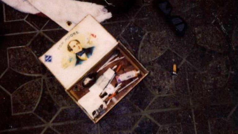 Портмонето, открито при тялото на Кобейн