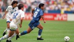 Диего Марадона на Световното първенство в САЩ през 1994