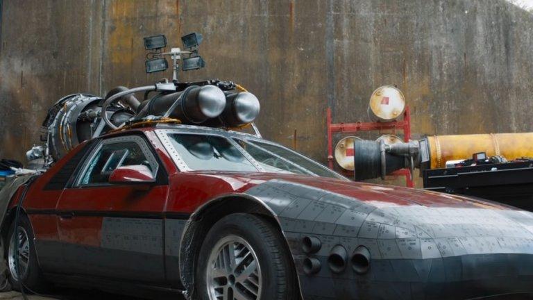 """И още от новият """"Бързи и яростни"""": кола с ракетен двигател..."""