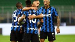7 гола, 3 обрата - Интер и Фиорентина сътвориха истински спектакъл