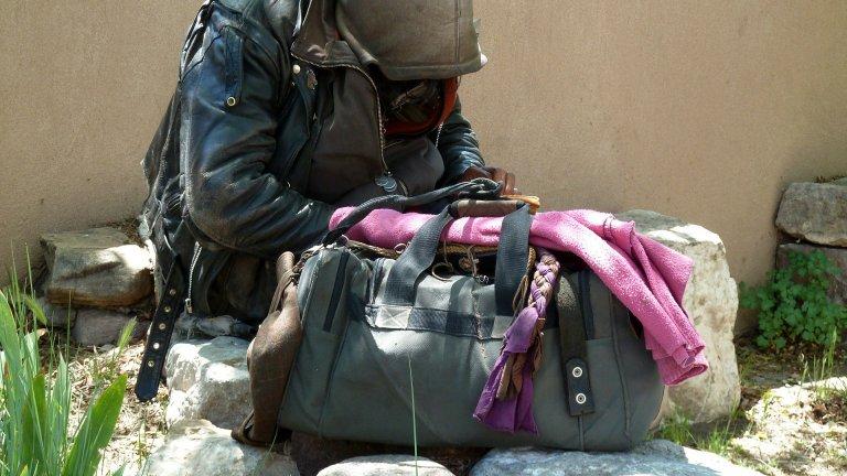 """В Лас Вегас """"подслониха"""" всички бездомни на открит паркинг"""