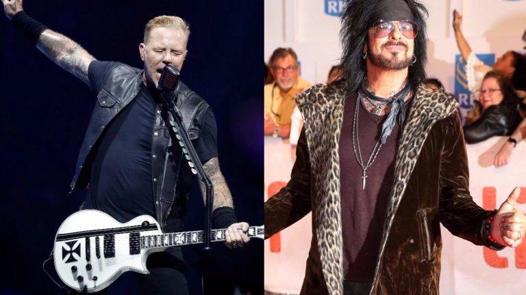 """""""Веднъж видяхме едни проститутки, но като се приближихме, осъзнахме, че това са Motley Crue""""  Джеймс Хетфийлд за Motley Crue  Глем метъл течението наистина предлагаше банди с озадачаваща визия, а качеството на самата музика също беше под въпрос. Фронтменът на Metallica май стреля точно в десетката, като се подигра на Motley Crue за външния им вид, макар че същевременно обиди всички работещи момичета."""