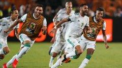 Големият герой за алжирците бе звездата на тима Рияд Марез, който отбеляза победния гол в 5-ата минута на добавеното време на двубоя.