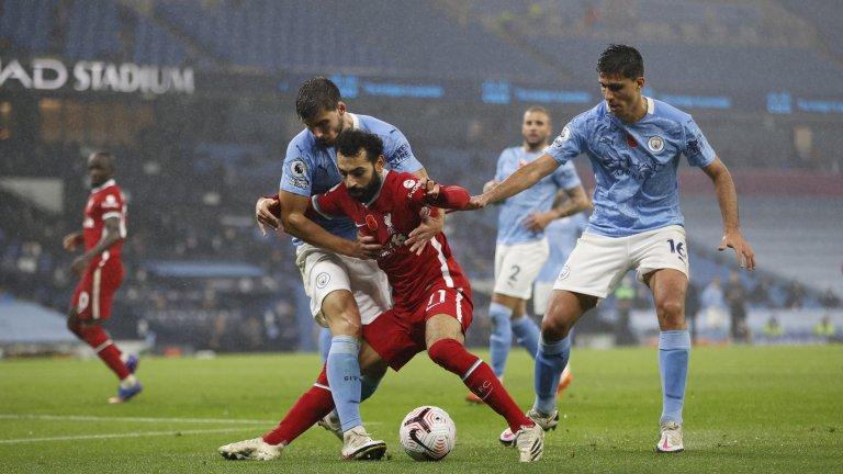 Салах вкара гола за Ливърпул.