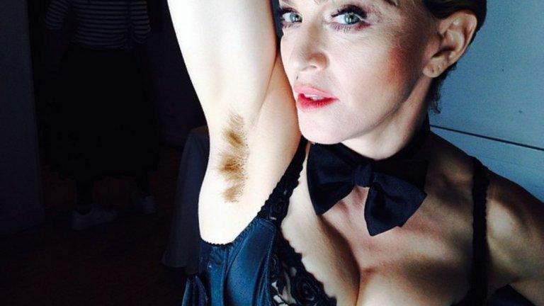 Мадона може да изглежда както пожелае и след толкова години на сцената е доказала, че всичко, което тя прави, започва като скандално, но се превръща в норма.(instagram.com/madonna)