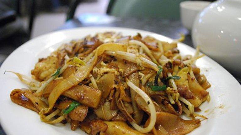 Оризови спагети по малайзийски или Char Kway Teow