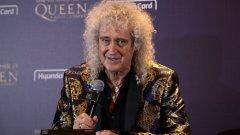 """""""Мислех, че съм много здрав човек"""", казва китаристът на Queen, на когото се наложило да бъдат поставени стентове"""