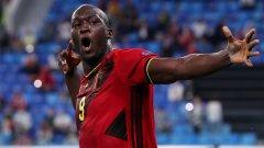 Белгия показа класа срещу Русия, Лукаку започна с головете