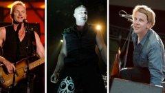 Какво ще имаме възможност да слушаме на живо - вижте някои от най-големите концерти в хронологичен ред: