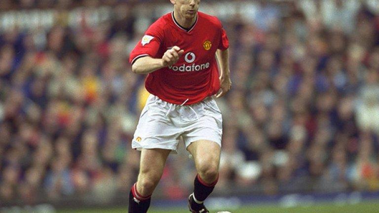 Яп Стам - 127 мача, 1 гол Холандецът застана като скала в отбраната за три сезона - между 1998-а и 2001-ва, като Юнайтед взе три титли, Шампионската лига, Купата на ФА и междуконтиненталната купа за тези години. Стам бе лидерът на отбраната, но бе продаден изненадващо на Лацио през 2001 г., след като Фъргюсън побесня на негови изповеди около трансфера му в Юнайтед и неща от кухнята на клуба, публикувани в автобиографията на бранителя.