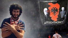 Исмаил Морина шокира футболния свят, след като пилотираният от него дрон развя флага на Велика Албания над стадиона на Партизан в Белград