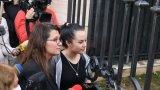 """Активисти се събраха на """"масово пиене на кафе"""" пред хотел в София"""