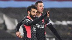Нова победа върна Ливърпул в тройката