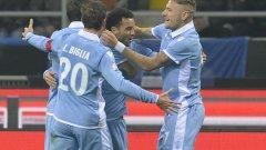 Фелипе Андерсон откри резултата, но пропусна няколко чисти положения в мача. Все пак Лацио се поздрави с победата и най-вероятно ще срещне Рома на полуфинала