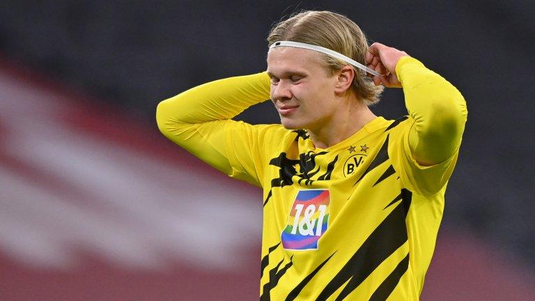Дортмунд вдигна цената на Хааланд, вече струва 180 милиона