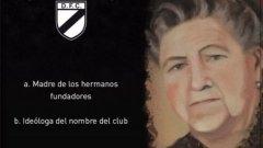 Мария Лазарова е майка на създателите на футболен клуб Данубио и кръстница на отбора, затова стадионът ще носи нейното име