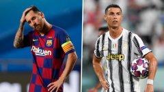 Без Меси и Роналдо в шортлиста за Играч на годината за първи път от десетилетие