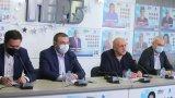 Томислав Дончев наблегна на това, че ГЕРБ е победила на вота, Даниел Митов отрече да е говорено с него да бъде кандидат на партията за премиер