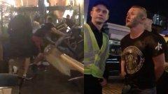 Нападение срещу фенове на Ливърпул в Киев