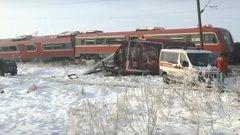 Сблъсъкът е станал на железопътен прелез след гара Меджурово