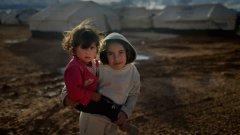 Над 1 милион от сирийските бежанци са деца