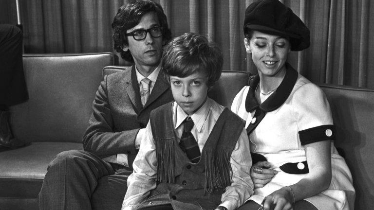 Кристо, Жан-Клод и синът им Кирил