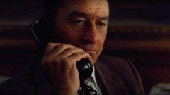 В новия филм на Мартин Скорсезе актьорът Робърт Де Ниро е подмладен дигитално, за да може да изиграе гангстера Франк Шийрън в различни периоди от живота му. Как изглежда след прилагането на визуалните ефекти вижте в галерията: