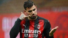 Драма с Лацио задържа Милан на върха в Серия А