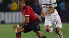 Алексис вкара гола за Юнайтед, а за Милан се разписа Сусо.
