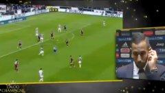 Бенатия чу обидите, докато коментираше мача с Торино за зрителите на Rai Sport