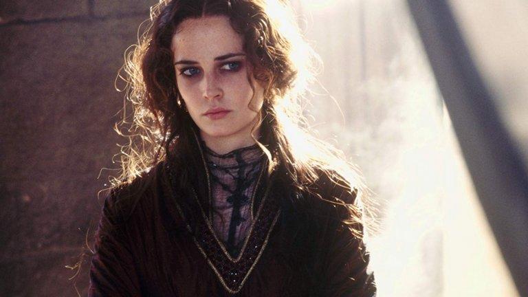 """Небесно царство Филмът, който разрушава мненията на мнозина, че Грийн е просто красива, е """"Небесно царство"""" от 2006 година, режисиран от Ридли Скот. Британският исторически епос, макар и измислено, изобразява живота на Балиан Дибелин и Сибила Йерусалимска, в чиято кожа влиза Грийн."""