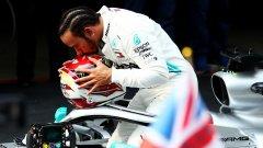 Люис Хамилтън спечели юбилейното състезание №1000 в историята на Формула 1