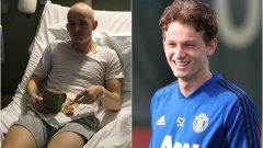 Макс Тейлър е едно от момчетата, което ще пътува с първия отбор на Манчестър Юнайтед за Астана. Само преди година минаваше курсове химиотерапия заради рак на тестисите.