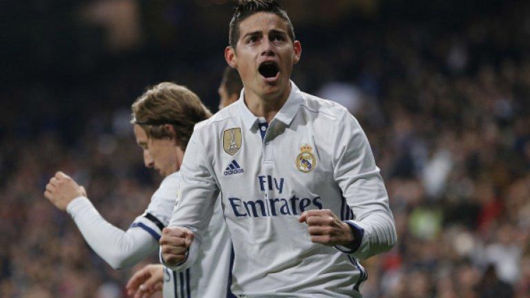 Атакуващ полузащитник: Хамес Родригес – от Монако в Реал Мадрид за 75 млн. евро, 2014 г. Колумбиецът се превърна в сензация на Мондиал 2014, което му осигури и трансфер в Реал. Там обаче не му провървя и през това лято бе отдаден под наем в Байерн Мюнхен.