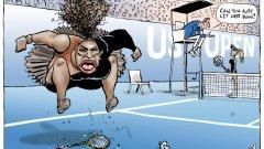 Или как светът полудя заради карикатура на Серина Уилямс