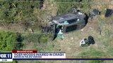 Видео от мястото на катастрофата на Тайгър Уудс