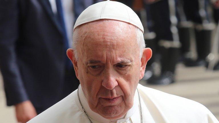 Папата е отправил този призив на неделната си литургия