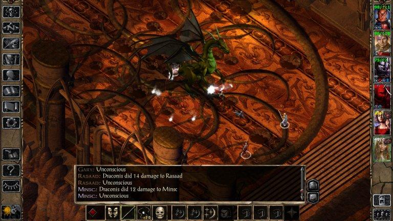 Baldur's Gate 2: Shadows of Amn  Продължението на хита от 1998 г. надмина очакванията на фенове и критици, добавяйки нов turn-based тактически геймплей и достатъчно куестове, които да стигнат за няколко (реални) живота на всеки един играч. Истинските герои в играта обаче бяха героите и историята.