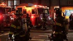 Пострадали са и 4 пожарникари
