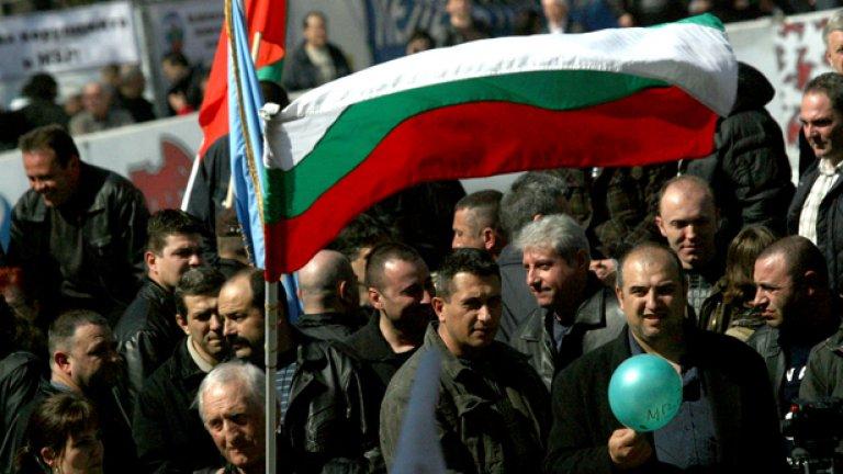 На мартенския си протест недоволните полицаи бяха повече - и по-гневни