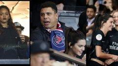 Риана, Роналдо, Кендъл Дженър и Джиджи Хадид бяха само част от звездите, станали свидетели на рекорда на Златан