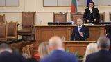 Държавният глава заяви, че от понеделник започва консултации с политическите партии