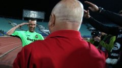 Героят от финала за Купата на България Георги Петков стана най-възрастният български футболист, участвал в евротурнирите - на 42 години и 4 месеца