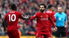 Мане първо асистира на Салах, а после отбеляза победния гол