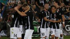Локомотив имаше предимство от 2:0 в първия мач, но в реванша изоставаше с 0:3 преди гола на Ожболт