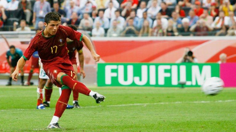 """След като Деко откри резултата в 63-тата минута, в 80-ата Кристиано Роналдо осигури победата за Португалия срещу Иран с гол от дузпа във втория мач от груповата фаза. Впоследствие """"мореплавателите"""" достигнаха до полуфиналите, но загубиха от Франция, след което паднаха и от Германия в мача за третото място."""