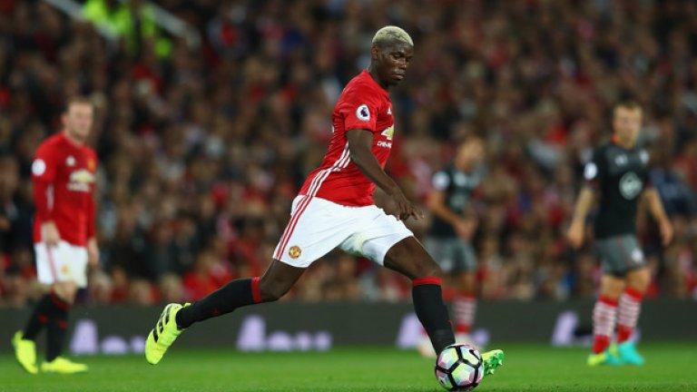Пол Погба, Манчестър Юнайтед - 89 млн. паунда Година Пол Погба бе най-скъпият футболист в света, след като премина в Юнайтед от Ювентус през август 2016-а. Рекордът бе счупен от Неймар.